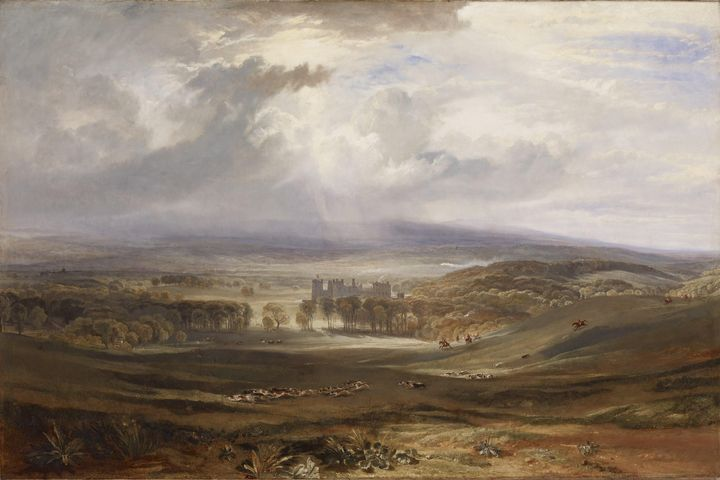 J. M. W. Turner~Raby Castle, the Sea - Classical art