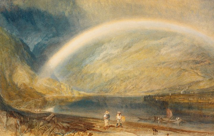 J. M. W. Turner~Rainbow A View on th - Classical art