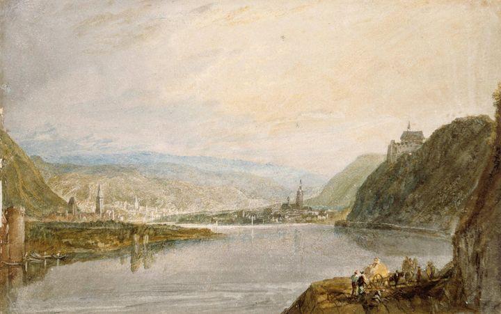 J. M. W. Turner~Remagen, Erpel and L - Classical art