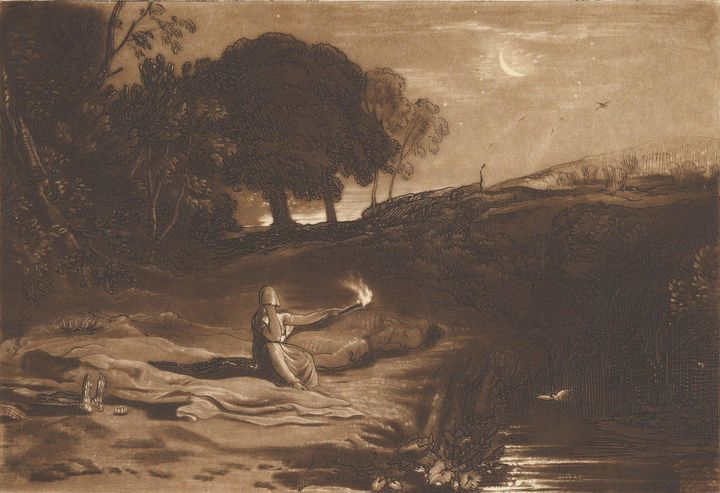 J. M. W. Turner~Rispah, 2nd Book of - Classical art