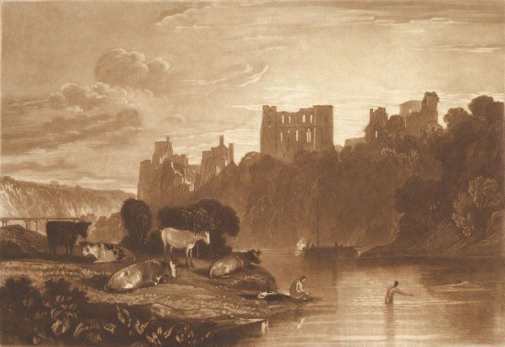 J. M. W. Turner~River Wye (Liber Stu - Classical art