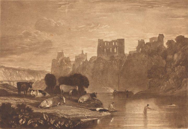 J. M. W. Turner~River Wye - Classical art