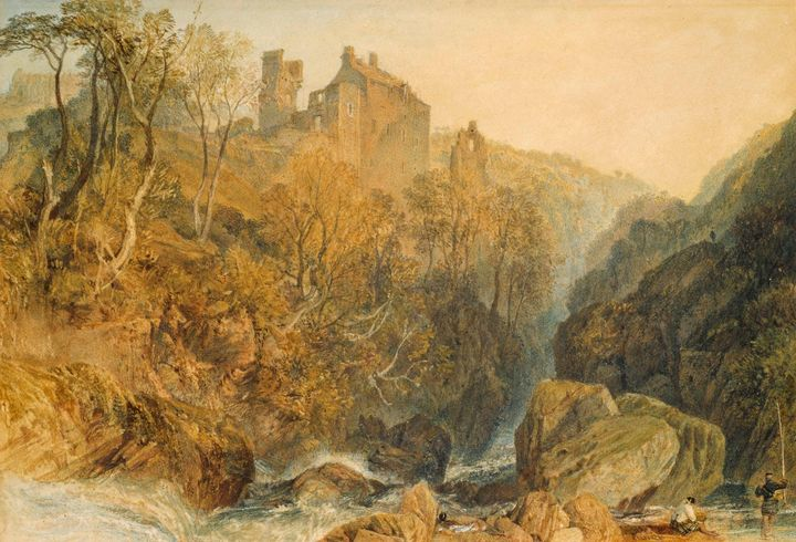J. M. W. Turner~Rosslyn Castle - Classical art