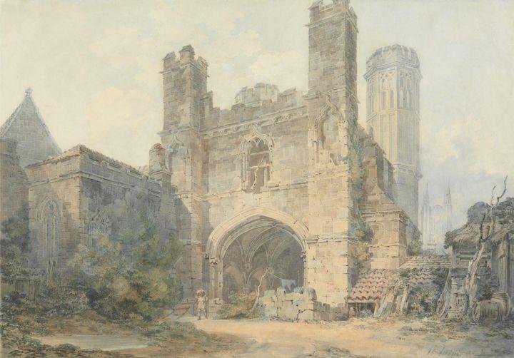 J. M. W. Turner~Saint Augustine's Ga - Classical art