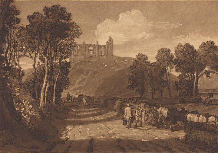 J. M. W. Turner~Saint Catherine's Hi - Classical art