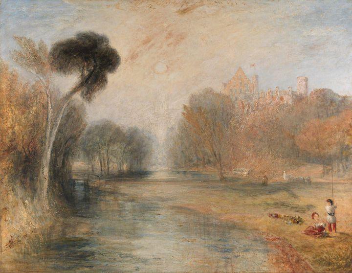 J. M. W. Turner~Schloss Rosenau, Cob - Classical art