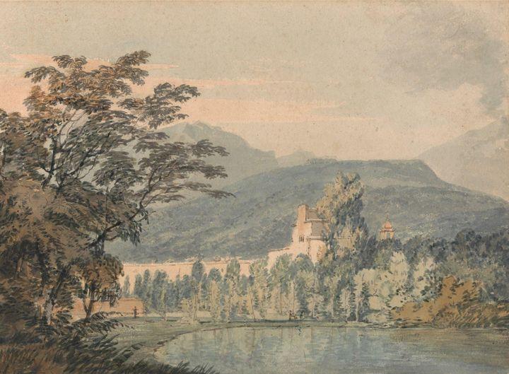 J. M. W. Turner~Sir William Hamilton - Classical art