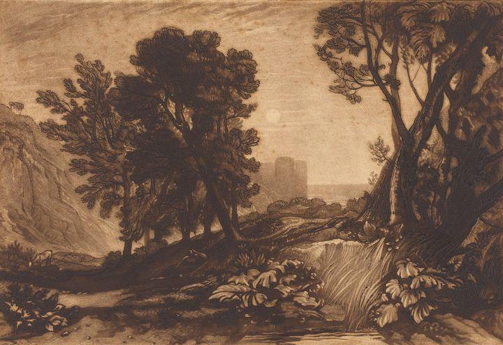 J. M. W. Turner~Solitude - Classical art