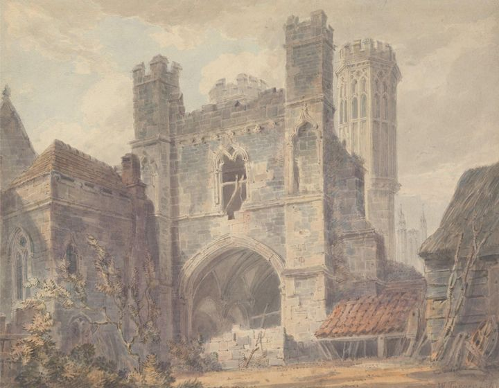 J. M. W. Turner~St. Augustine's Gate - Classical art