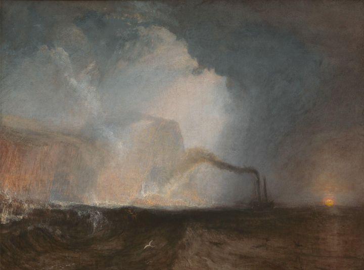 J. M. W. Turner~Staffa, Fingal's Cav - Classical art