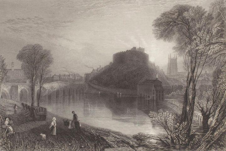 J. M. W. Turner~Tamworth Castle, Sta - Classical art