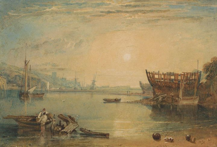 J. M. W. Turner~Teignmouth, Devonshi - Classical art