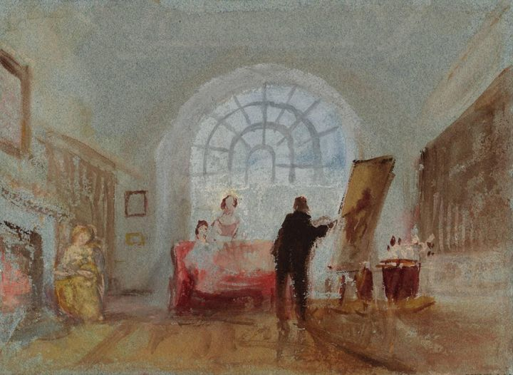 J. M. W. Turner~The Artist and his A - Classical art