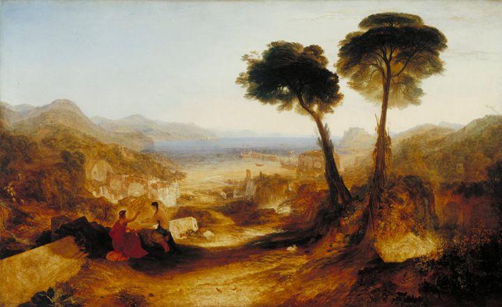 J. M. W. Turner~The Bay of Baiae, wi - Classical art