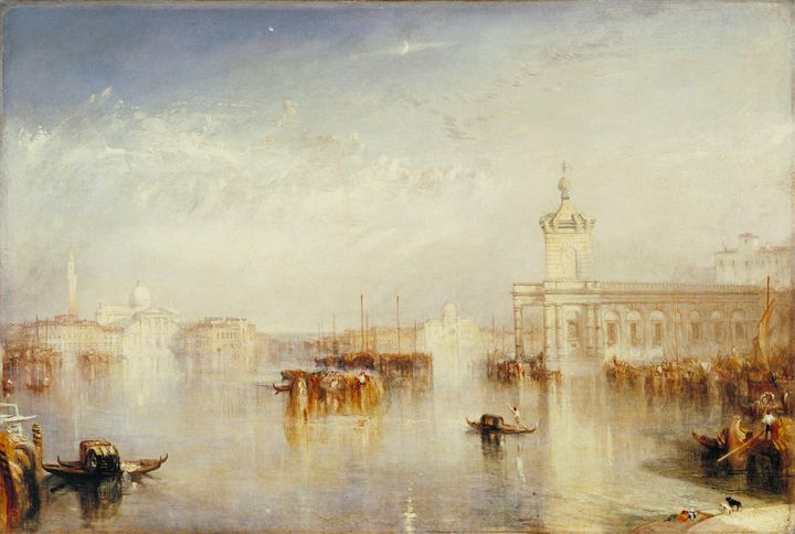 J. M. W. Turner~The Dogano, San Gior - Classical art