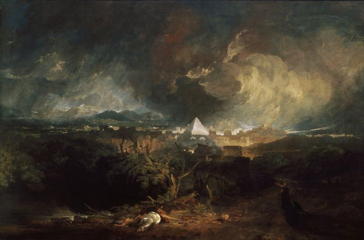 J. M. W. Turner~The Fifth Plague of - Classical art