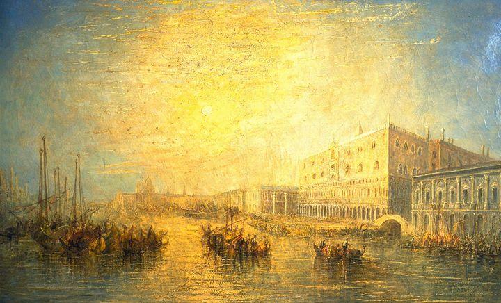J. M. W. Turner~The Grand Canal, Ven - Classical art