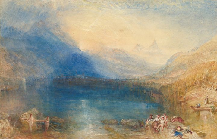 J. M. W. Turner~The Lake of Zug - Classical art