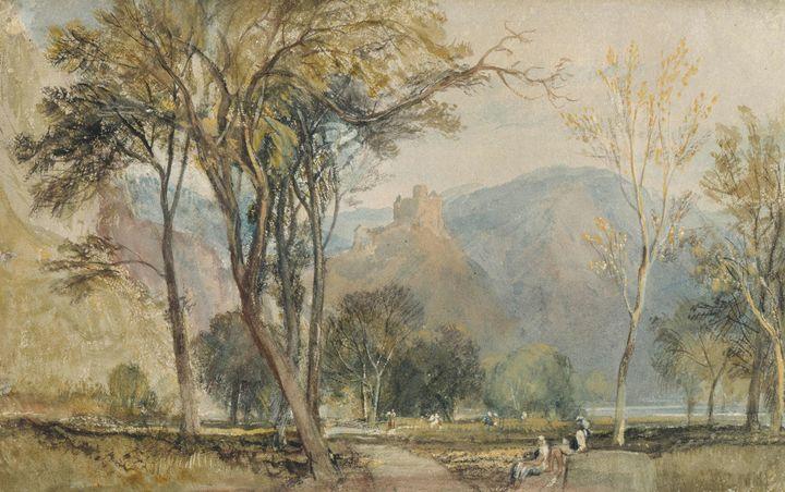 J. M. W. Turner~The Marxburg - Classical art