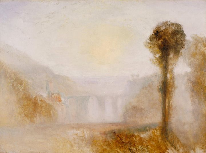 J. M. W. Turner~The Ponte Delle Torr - Classical art