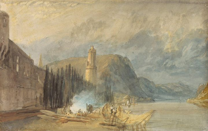 J. M. W. Turner~The Roman Tower, And - Classical art