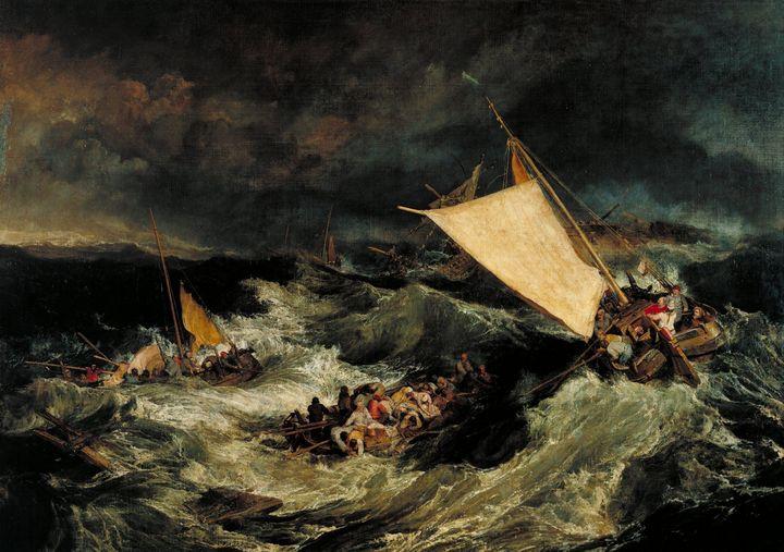 J. M. W. Turner~The Shipwreck - Classical art