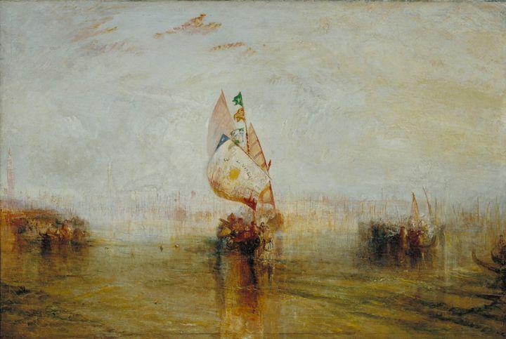 J. M. W. Turner~The Sun of Venice Go - Classical art
