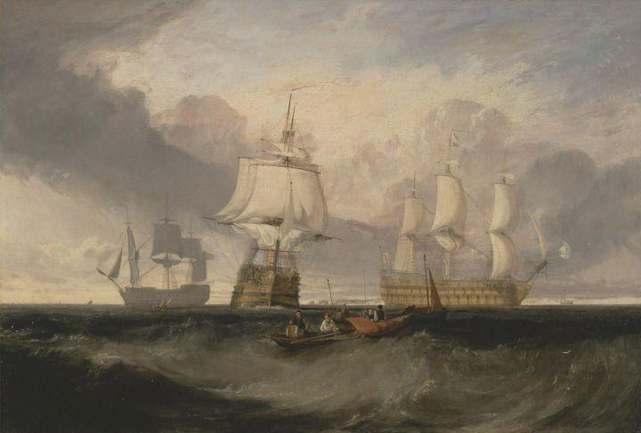 J. M. W. Turner~The Victory Returnin - Classical art