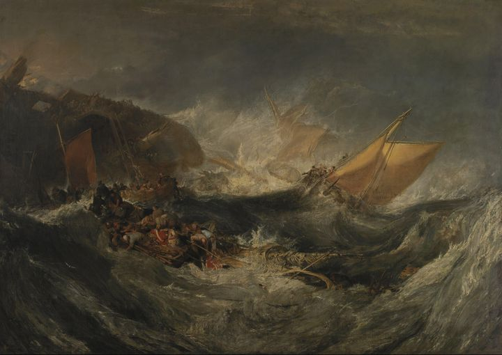 J. M. W. Turner~The Wreck of a Trans - Classical art