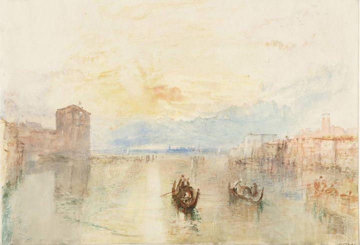 J. M. W. Turner~Venice The Giudecca - Classical art