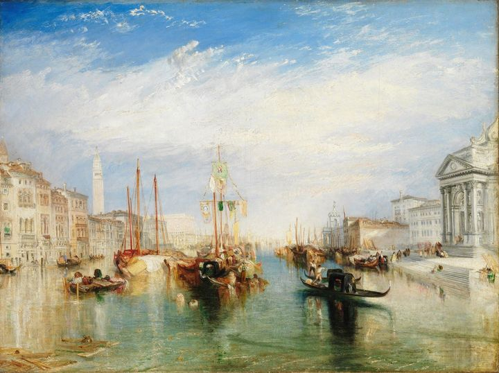 J. M. W. Turner~Venice, from the Por - Classical art