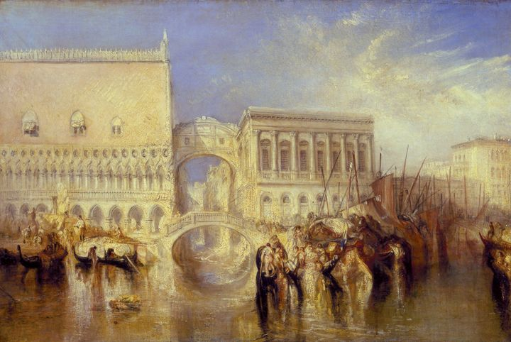 J. M. W. Turner~Venice, the Bridge o - Classical art