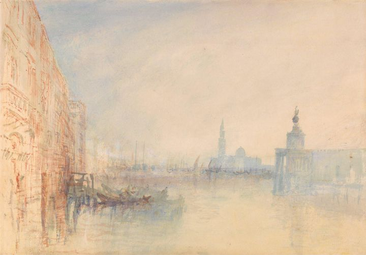 J. M. W. Turner~Venice, The Mouth of - Classical art