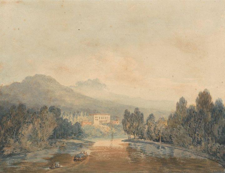 J. M. W. Turner~Villa Salviati on th - Classical art
