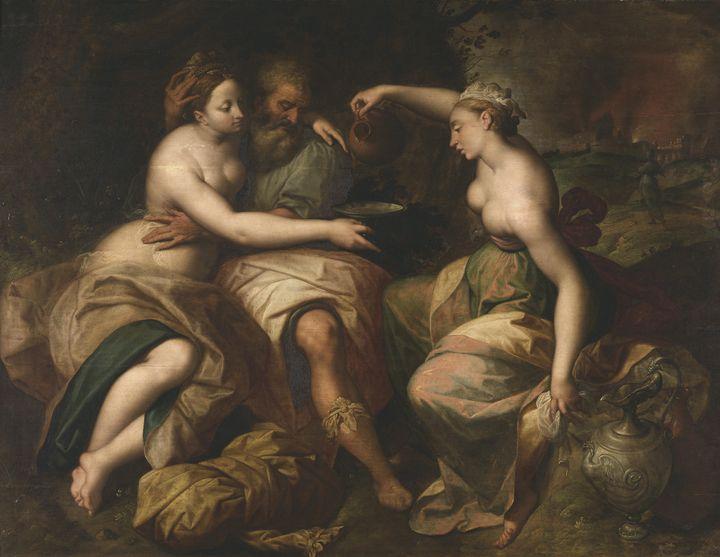 Jacob (Jacques) de Backer~Lot und se - Classical art