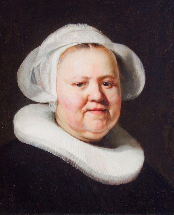 Jacob Adriaensz Backer~Portrait of a - Classical art