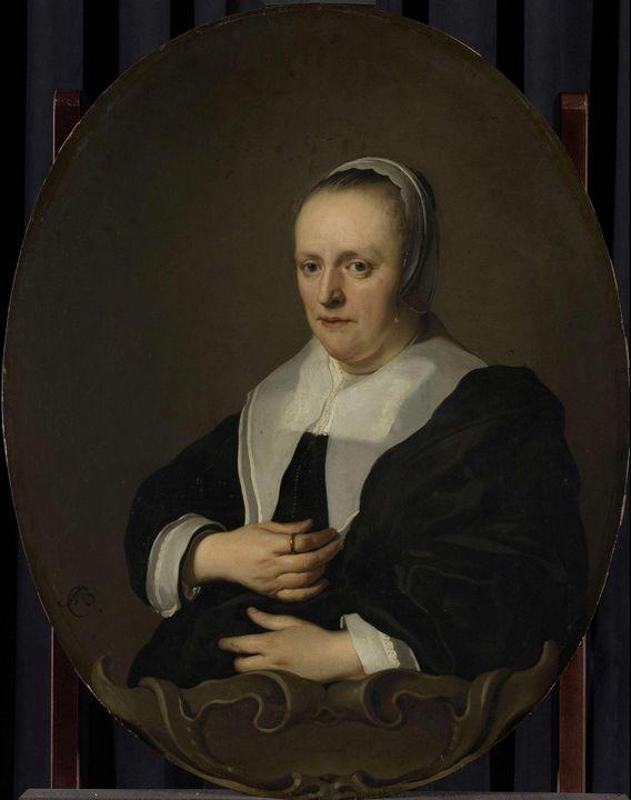 Jacob Adriaensz Backer~Portrait of S - Classical art
