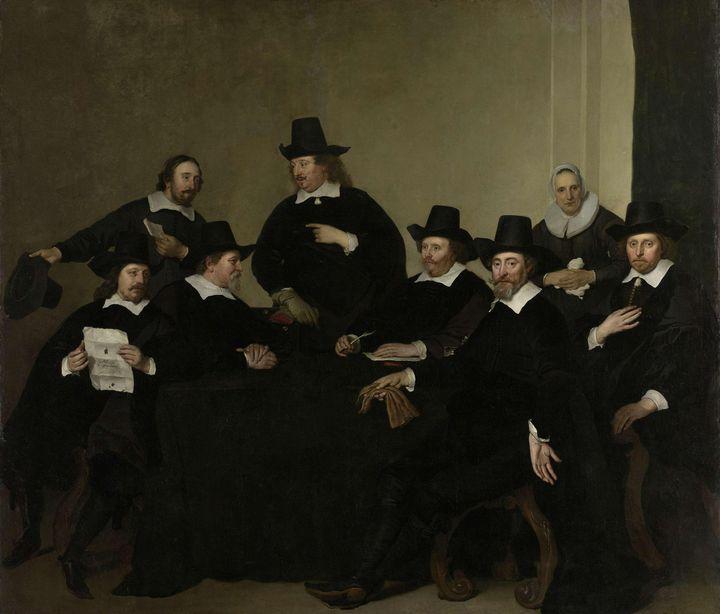 Jacob Adriaensz Backer~Regenten Rege - Classical art