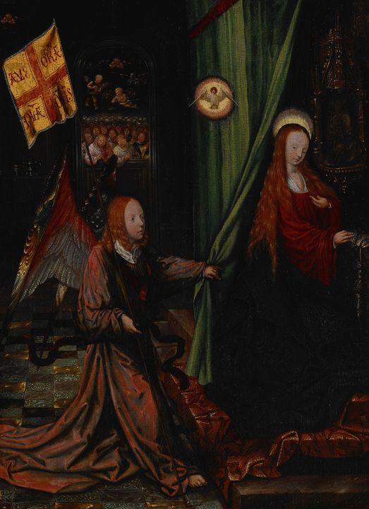 Jacob Cornelisz van Oostsanen~Annunc - Classical art