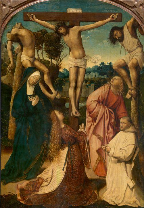 Jacob Cornelisz van Oostsanen~Calvar - Classical art