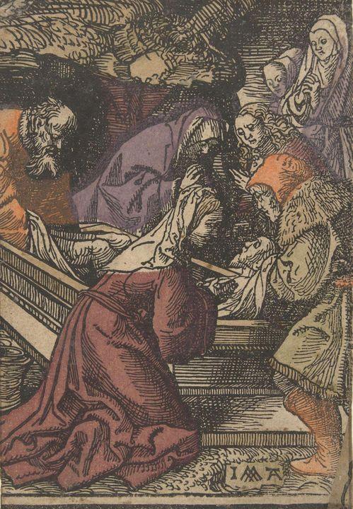 Jacob Cornelisz van Oostsanen~Grafle - Classical art