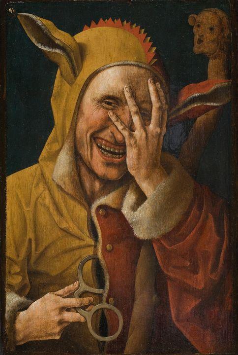 Jacob Cornelisz van Oostsanen~Laughi - Classical art