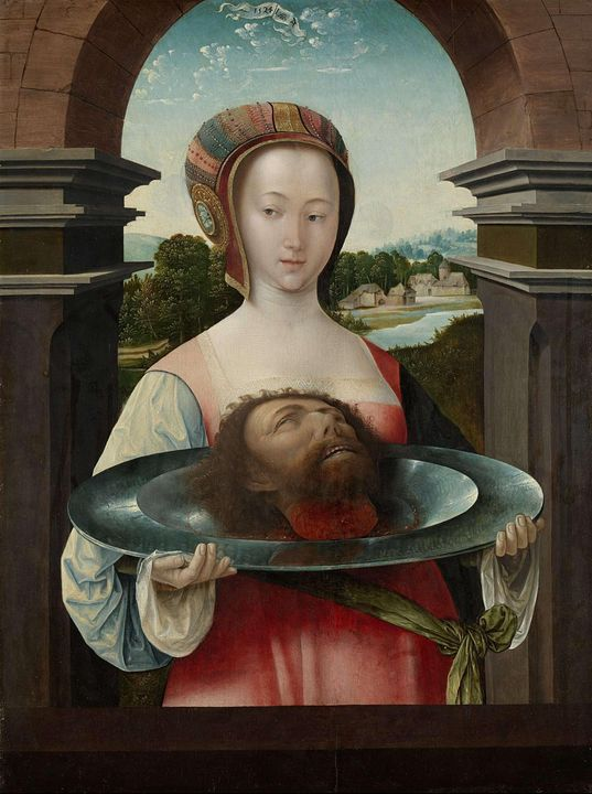 Jacob Cornelisz van Oostsanen~Salome - Classical art