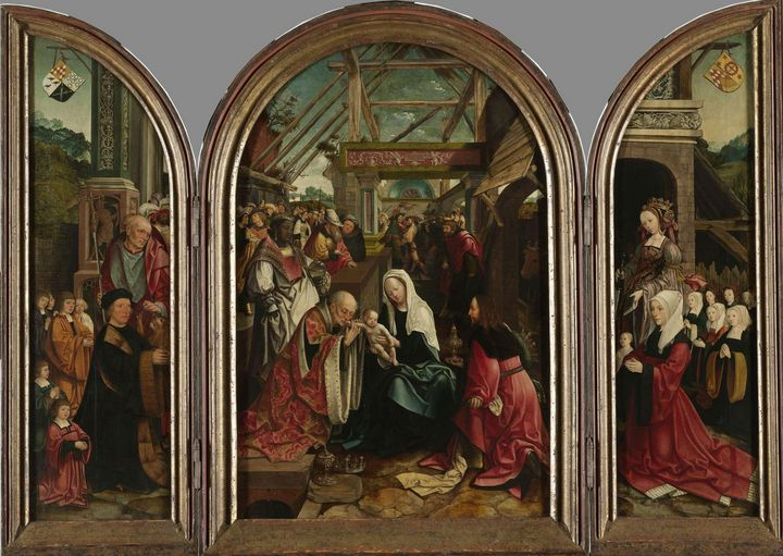 Jacob Cornelisz van Oostsanen~The Ad - Classical art