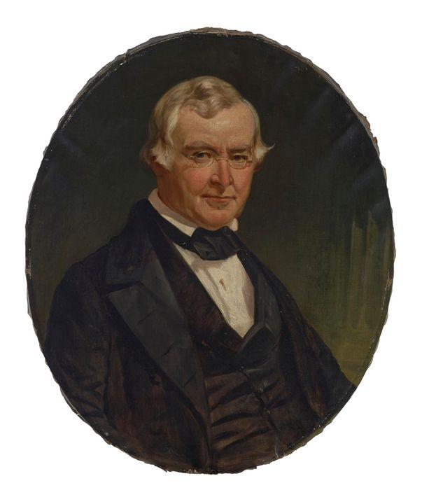Jacob Cox~Portrait of Dr. Charles G. - Classical art