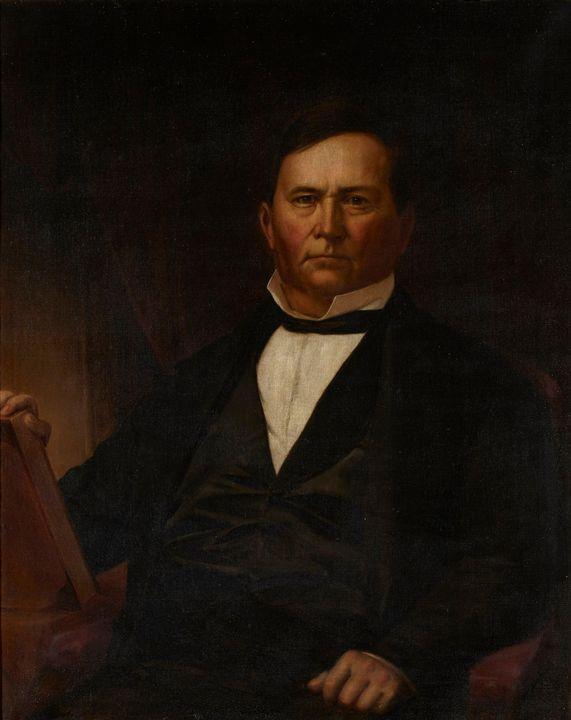 Jacob Cox~Portrait of Governor David - Classical art