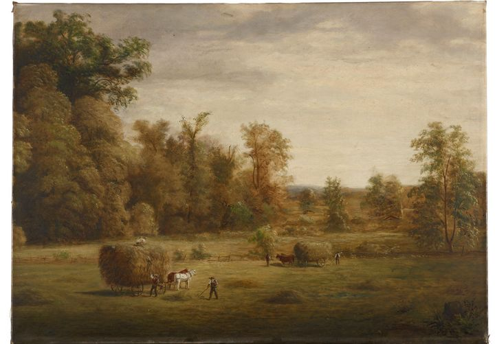 Jacob Cox~Sherman's Meadow - Classical art