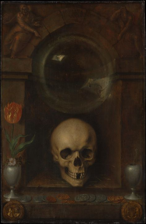 Jacob de Gheyn II~Vanitas Still Life - Classical art