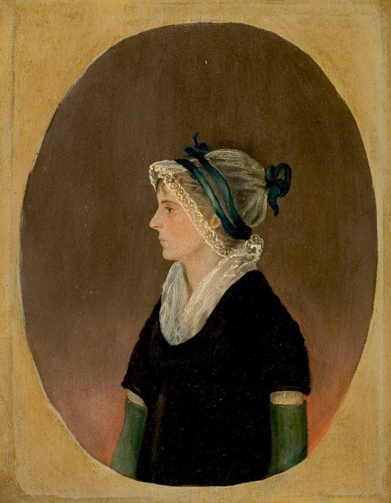 Jacob Eichholtz~Portrait of a Woman - Classical art