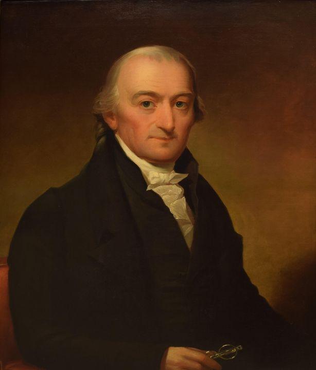 Jacob Eichholtz~Portrait of Christop - Classical art